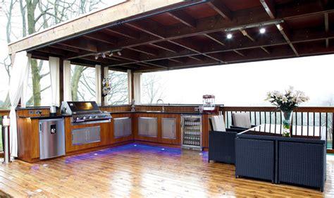 outdoor kitchen manchester modern patio manchester