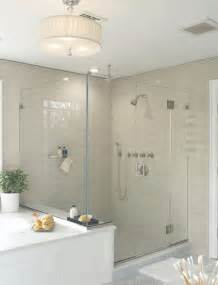 Glass Subway Tile Bathroom Ideas Subway Tile B A S