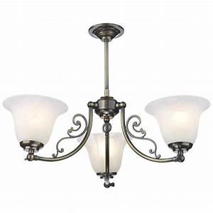 Campden antique brass low ceiling light designed by david hunt