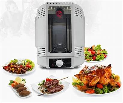 Nutrichef Oven Kitchen Rotisserie Cook Beef Turkey