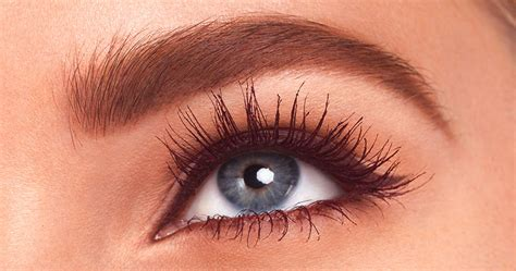 burgundy mascara   elevated eye makeup loreal paris