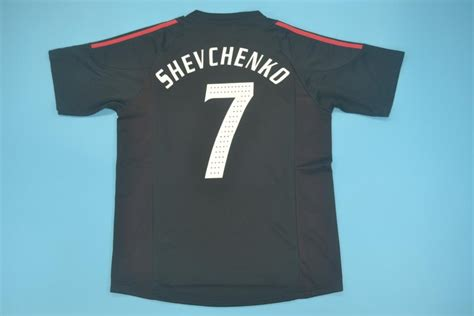 Andriy shevchenko jersey with name and number. AC Milan 2002-2003 Third Maglia Shirt Kit Free Shipping