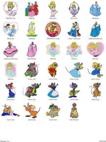free embroidery designs cinderella mermaid sleeping 75 embroidery designs free machine embroidery