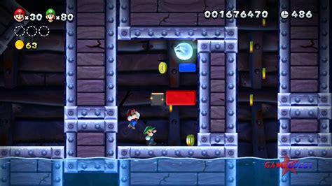 New Super Mario Bros U World Sparkling Waters Ghost