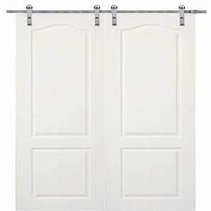 mmi door 60 in x 80 in primed princeton smooth surface With 60x80 barn door
