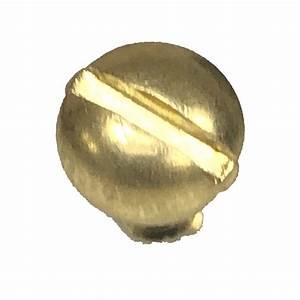 Brass, Plated, Pan, Head, Wood, Screws