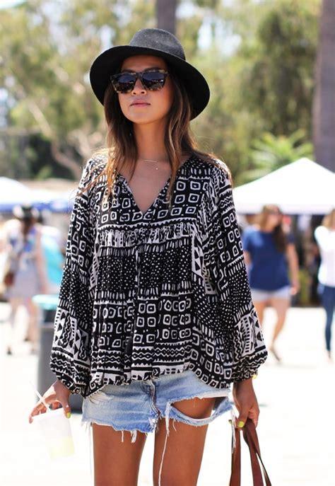 How To Wear Denim Shorts for Women 2018 | FashionTasty.com