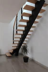 Escalier Metalique Bois escalier tournant un quart escalier m 233 tallique et bois