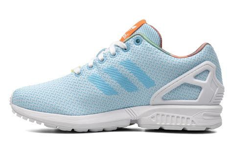 01ec7da4153e1 Adidas Zx Flux Light Blue Wallbank Lfccouk