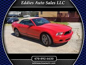 Used 2010 Ford Mustang V6 Premium Convertible for Sale in Gainesville GA 30504 Eddies Auto Sales ...