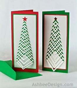 Ashbee Design Silhouette Projects DIY Christmas Card