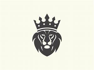 Image Gallery lion king crown logo
