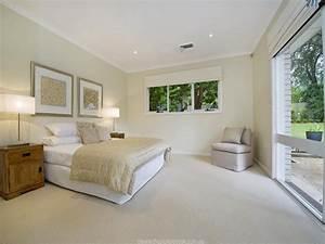 Modern bedroom design idea with carpet sliding doors for Bedroom carpet colours