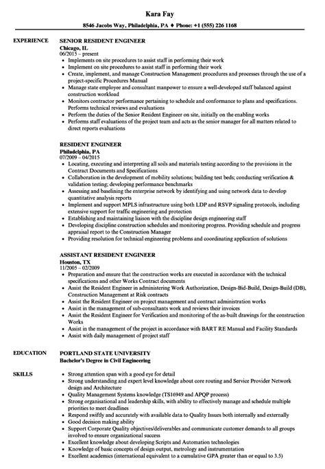 resume engineer sle rail sles velvet