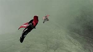 Wingsuit Pilot Narrowly Escapes Collision W   Gondola At Tianmen Mountain