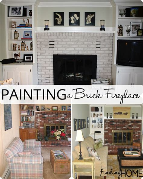 how to paint a fireplace images painted brick fireplaces images