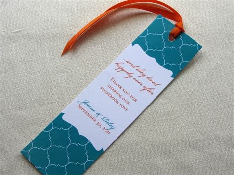diy wedding favor bookmarks repost with bookmarks at your wedding imbue you i do