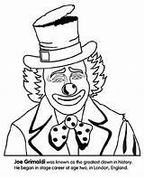 Clown Coloring Crayola Pages Happy sketch template