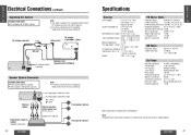 panasonic cq c1300u wiring cqc1300u auto radio deck