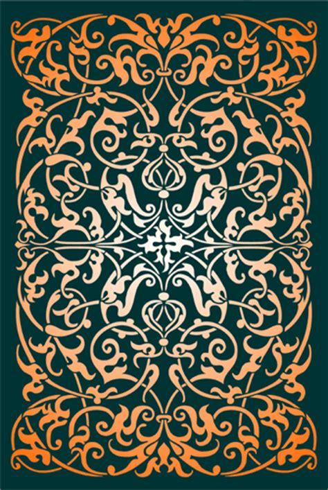 moresque scrollwork designs  stencil kingdom