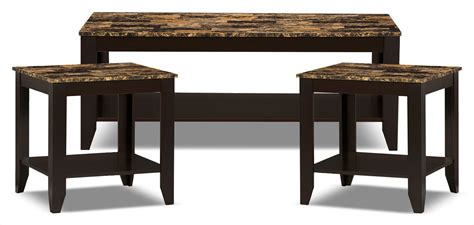 Roma 3-piece Coffee And Two End Tables Package
