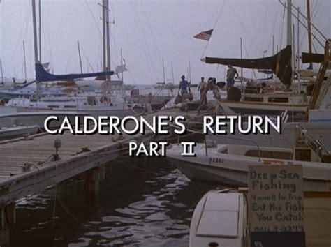 Miami Vice Boat To Cuba by Quot Calderone S Return Part Ii Quot Miami Vice Wiki Fandom