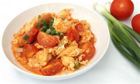 Egg And Tomato Chinese Recipe Tomato Eggs Recipe Dishmaps
