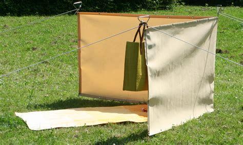 Mobiler Sicht- Und Windschutz Paravent Für Camping