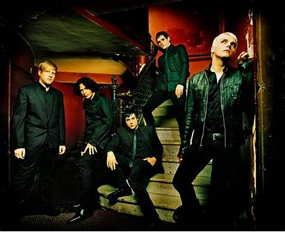 Chemical Romance Wallpapers Way Parade Photoshoot Band