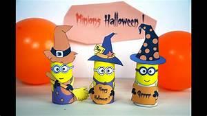 Bricolage 3 Ans : minions d 39 halloween activit manuelle bricolage enfant ~ Melissatoandfro.com Idées de Décoration