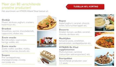 Vegetarisch dieet schema