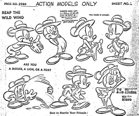 mayerson  animation fred moore drawings