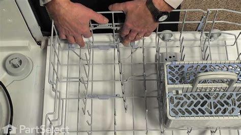 dishwasher repair replacing  tine pivot whirlpool part  youtube