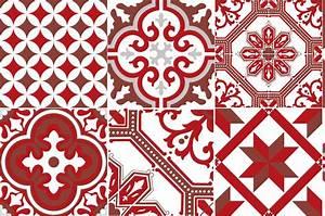 Carreaux De Ciment Rouge : cr dence adh sive carreaux de ciment ginette rouge ~ Melissatoandfro.com Idées de Décoration