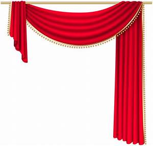 red curtain transparent png clip art image png jpg With gold curtains png