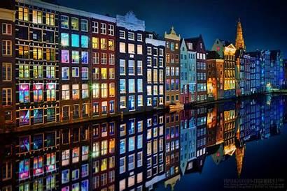 Amsterdam Godina Nova Avionom Night Ilfanale Salvato