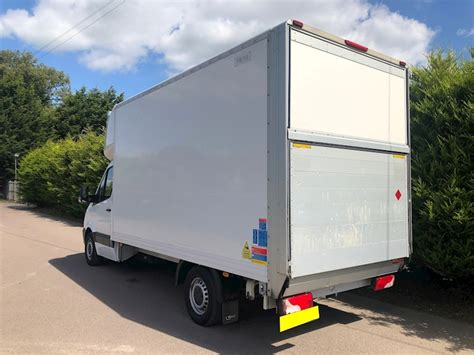 I didn't have a tape measure handy as the 2660mm quoted. Used 2016 Mercedes-Benz Sprinter 313 2.1 Cdi 130bhp LWB LUTON VAN - TAIL LIFT For Sale (U1142)   DVS