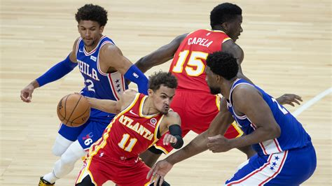 Embiid, who played through the entirety of the series with a torn meniscus in his knee. Hawks Vs. 76ers to find out the predictions, options ...
