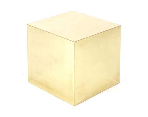 Brass Cube