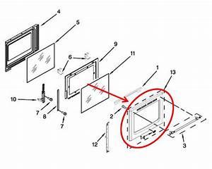 Whirlpool Part  Wpw10655831 Door Panel  Oem
