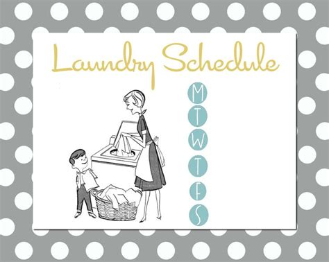 more on chores butler house design printables laundry schedule household organization
