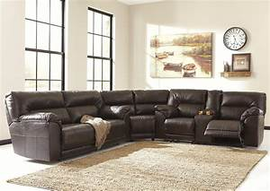 3 piece microfiber recliner sectional sofa www for Sectional sofa by the piece