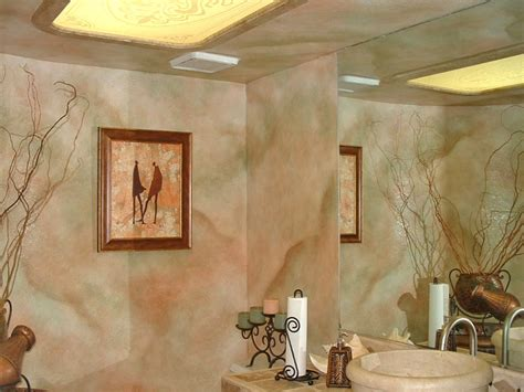 Faux Wall Finishes  Examples Of Handpainted Wall