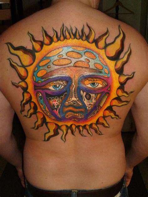 sun tattoos design ideas
