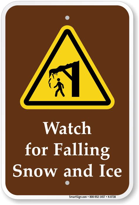 Falling Ice Signs  Falling Ice And Snow Warning Signs. Truck Ford Decals. Classic Rock Murals. Non Potable Water Signs. Wellness Murals. Roy Signs. Medical Product Banners. Sign Printing Near Me. Wren Logo