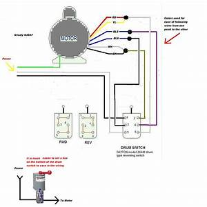 Forward Reverse Electric Motor Wiring Diagram Reversing