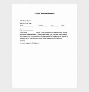 Doctors Excuse Pdf Doctors Note Template 7 Fillable Notes For Word Pdf
