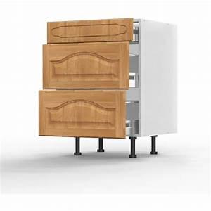 Facade De Meuble De Cuisine : meuble bas champ tre l60xh71 5xp56 124 267 cuisine ~ Edinachiropracticcenter.com Idées de Décoration