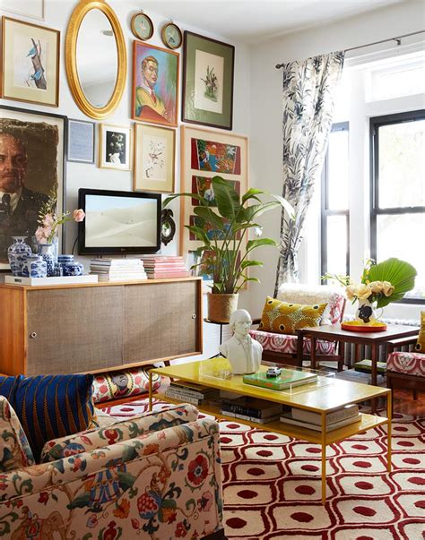 Maximalist New York Lofts That Will Take Your Breath Away by 10 Times Homeowners Power Clashed Like Pros Design Sponge