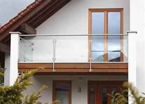 balkone aus edelstahl und holz das beste aus wohndesign With garten planen mit edelstahl balkone mit lochblech